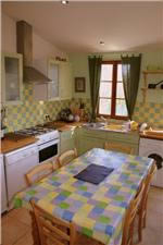 Cerisiers' kitchen in France