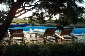 Cerisiers' pool in France