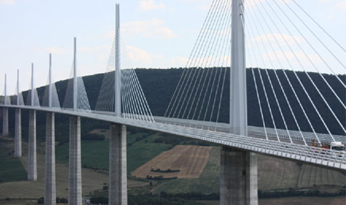 The Correze, the Millau Viaduct and the seaside