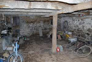 Lower barn interior