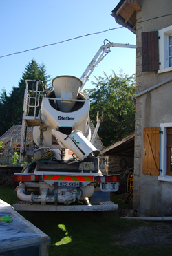 beton lorry