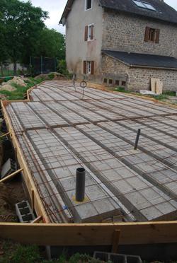 ready for final beton