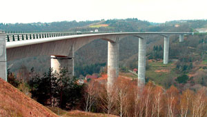 A89 viaduct at Tulle