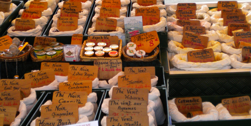 spices available on the Limousin market