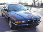 BMW 7 series - Biarritz Blue