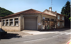 The service station, garage and house on the day of purchase