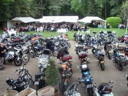 Motorcycling in the Quercy