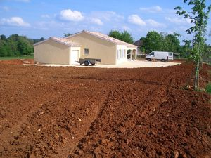 New house build in France