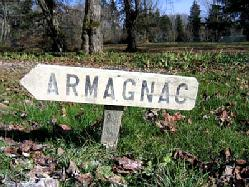 Armagnac from south-west France