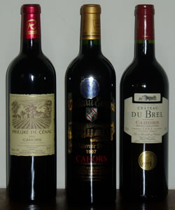The black wine of Cahors