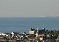 Normandy sea scape