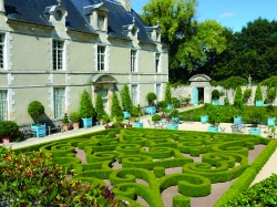 The stunning gardens at Brecy