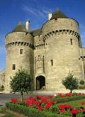 Guerande in the Pays de la Loire