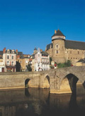 Laval in the Pays de la Loire