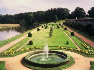 france pays de la loire gardens of Chateau du Lude