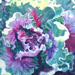 Red Cabbage by Elizabeth Whiteman