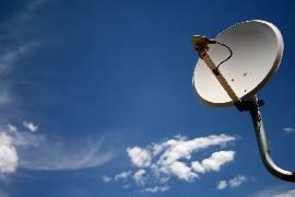satellite dish large