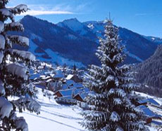 Châtel, French Alps