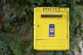 post box france