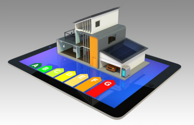 digital energy report under a model house