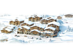 The development in Chatel