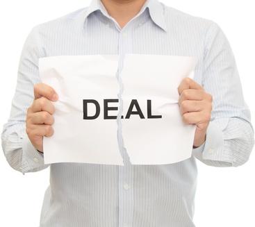 broken deal