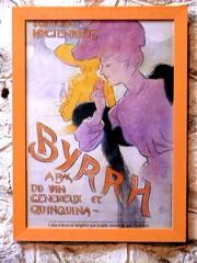 an old Byrrh poster