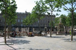 Place Carnot in the Bastide