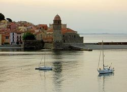 The bay of Collioure