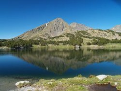 the Capcir is strewn with stunning mountain lakes
