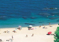The Racou beach, near Argeles