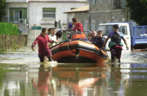 Floods in Languedoc