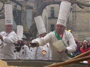 Truffles omelette Uzès