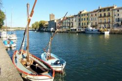 The Canal du Midi at Agde