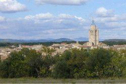 pretty villages like Caux surround Pezenas