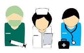 health staff illustration large