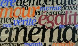Which English words originate from the French language?