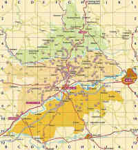 Gaillac Wines Map