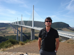 Dominic at Millau