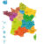 New map of France reduces regions to 13
